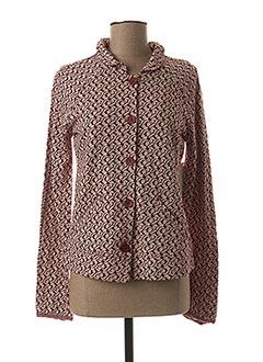 Veste casual rouge AGATHE & LOUISE pour femme