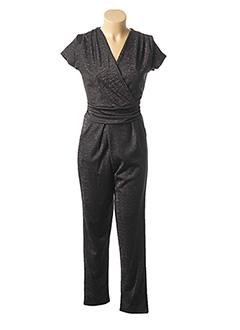 Combi-pantalon noir MISMASH pour femme