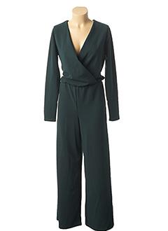 Combi-pantalon vert MISMASH pour femme