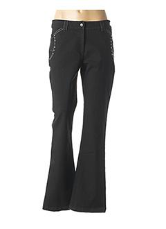 Jeans bootcut noir AGATHE & LOUISE pour femme