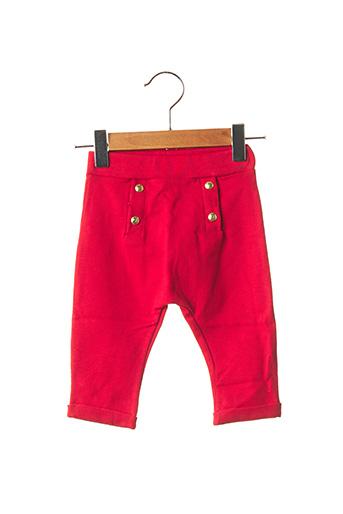 Pantalon casual rouge PETIT BATEAU pour fille