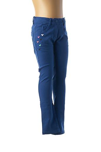 Pantalon casual bleu TUC TUC pour fille