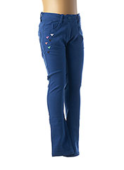 Pantalon casual bleu TUC TUC pour fille seconde vue