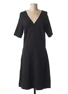 Robe mi-longue noir OLSEN pour femme