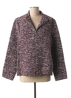 Veste casual violet GRIFFON pour femme