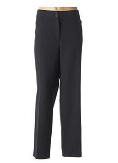 Pantalon chic bleu LEBEK pour femme