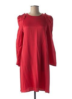 Robe courte rouge TARA JARMON pour femme