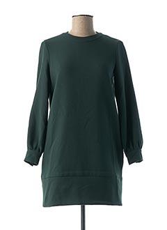 Robe courte vert SESSUN pour femme