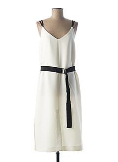 Robe longue blanc TARA JARMON pour femme