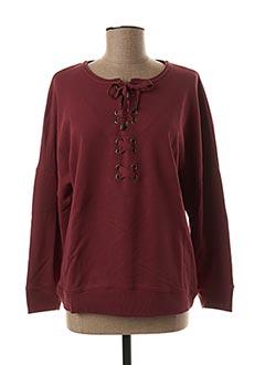 Sweat-shirt rouge SESSUN pour femme