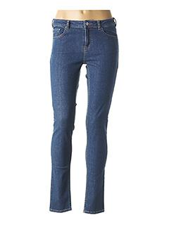Jeans coupe slim bleu TARA JARMON pour femme