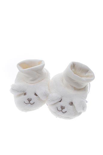 Chaussons/Pantoufles blanc ABSORBA pour enfant