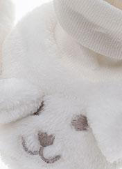 Chaussons/Pantoufles blanc ABSORBA pour enfant seconde vue