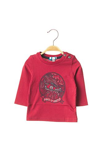 T-shirt manches longues rouge ABSORBA pour garçon