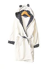 Robe de chambre blanc ABSORBA pour enfant seconde vue