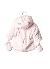 Manteau court rose ABSORBA pour fille seconde vue