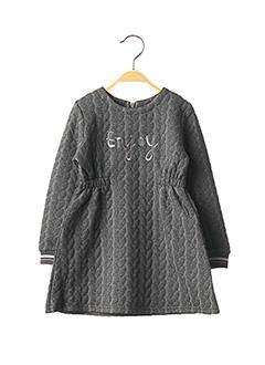 Robe mi-longue gris ABSORBA pour fille