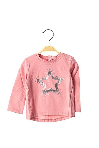 T-shirt manches longues rose ABSORBA pour fille