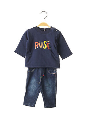 Pull/pantalon bleu ABSORBA pour garçon