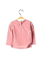 T-shirt manches longues rose ABSORBA pour fille seconde vue