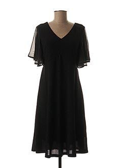 Robe mi-longue noir CREAM pour femme