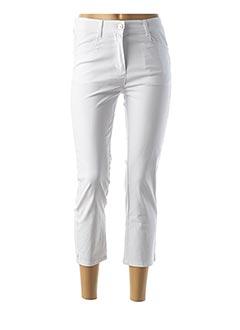 Pantalon 7/8 blanc DIANE LAURY pour femme