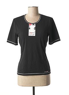 T-shirt manches longues noir TRIACTION BY TRIUMPH pour femme