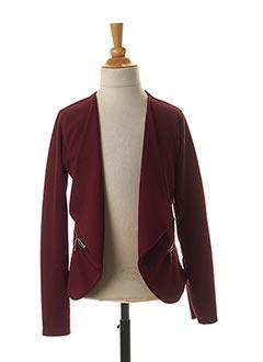 Veste casual rouge LPC GIRLS pour fille