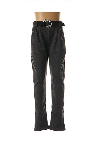 Pantalon casual gris P'TIT MÔME pour fille