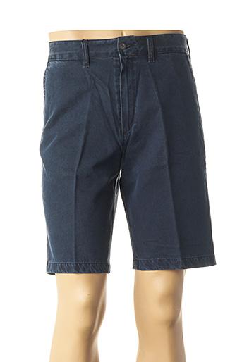 Bermuda bleu LCDN pour homme