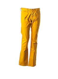 Pantalon casual jaune TEDDY SMITH pour garçon