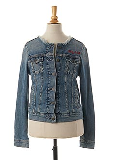 Veste en jean bleu TEDDY SMITH pour fille