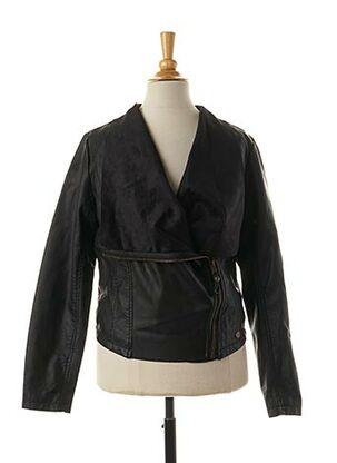 Veste casual noir GARCIA pour fille