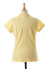 Polo manches courtes jaune TEDDY SMITH pour garçon seconde vue