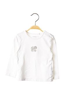 T-shirt manches longues blanc NOPPIES pour fille