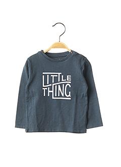 T-shirt manches longues bleu NOPPIES pour garçon