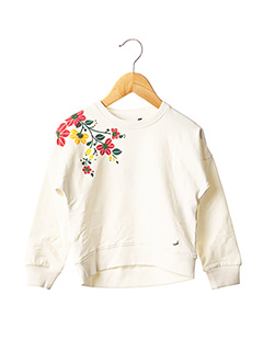 Sweat-shirt blanc TIFFOSI pour fille