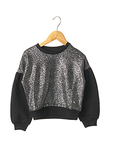 Sweat-shirt noir TIFFOSI pour fille