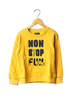 Sweat-shirt jaune TIFFOSI pour garçon