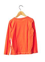T-shirt manches longues orange GARCIA pour garçon seconde vue