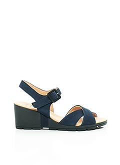 Sandales/Nu pieds bleu HIRICA pour femme