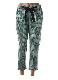 Pantalon 7/8 vert BLU ROYAL pour femme