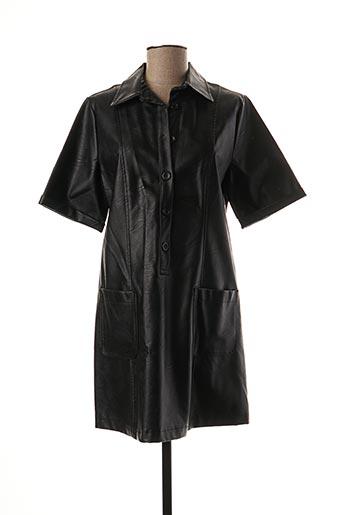 Robe courte noir BLU ROYAL pour femme
