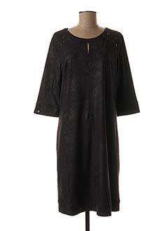 Robe mi-longue noir FRED SABATIER pour femme