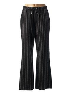 Pantalon casual noir CAROLINE BISS pour femme