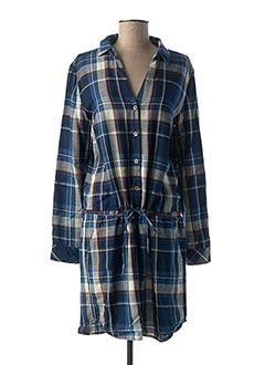 Robe mi-longue bleu RIVER WOODS pour femme