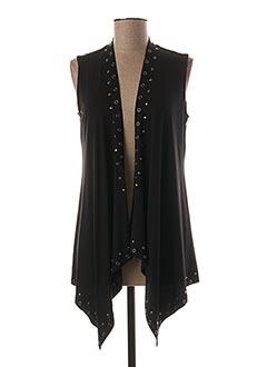Veste casual noir MARBLE pour femme