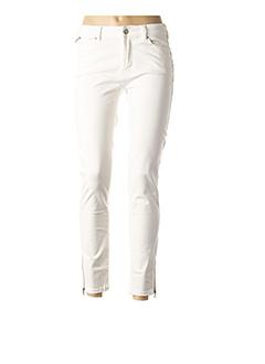 Jeans coupe slim blanc C'EST BEAU LA VIE pour femme