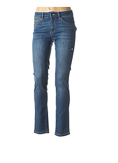 Jeans coupe slim bleu C'EST BEAU LA VIE pour femme