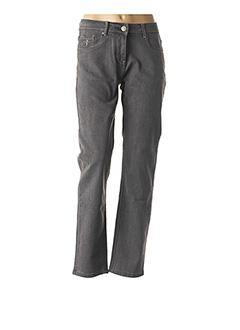Jeans coupe slim gris GRIFFON pour femme